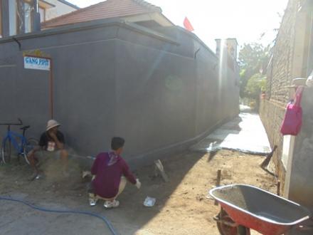 Realisasi Program Betonisasi Dana Desa Pemerintahan Desa Kalibukbuk