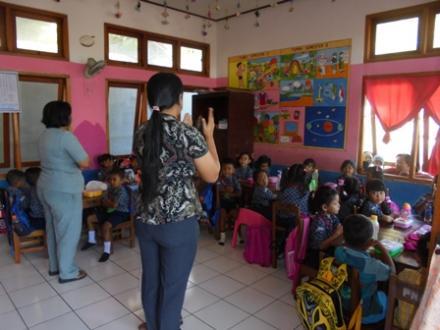 Tahun Pelajaran Baru TK Wisata Kumara Timur Desa Kalibukbuk